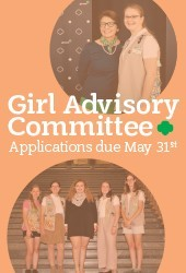 Girl Advisory Committee Right Rail