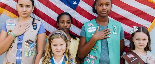 Standing Strong with Girl Scouts