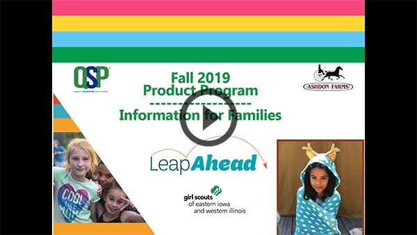 Fall Product Program - Families